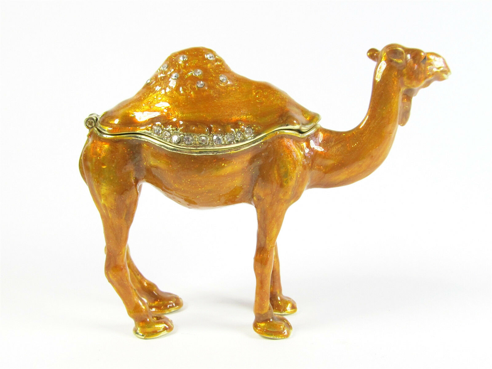 Australian Camel Single Hump Trinket Box or Figurine approx 6.5cm High