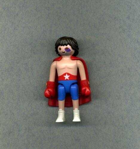 Boxer Figur Mit Umhang und Handschuhen Playmobil-