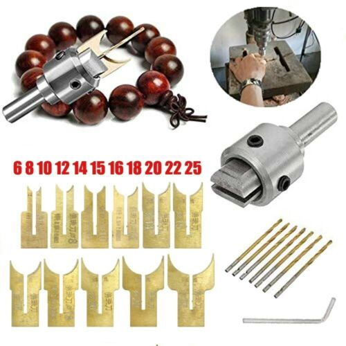 Multifunction Ring Drill Bit Wooden Thick Buckle Ring Maker Wood Tool Set