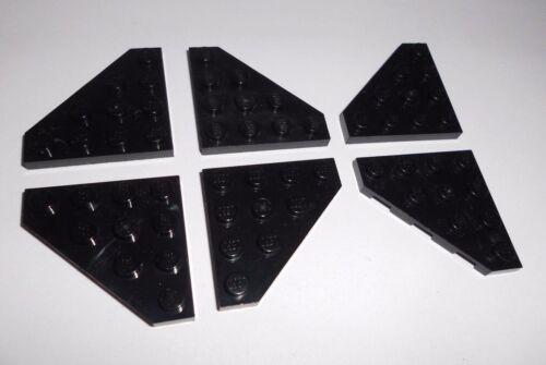 30503 6 schräge Platten 4x4 Lego in schwarz aus 6211 8017 4479 7262 7047 7678