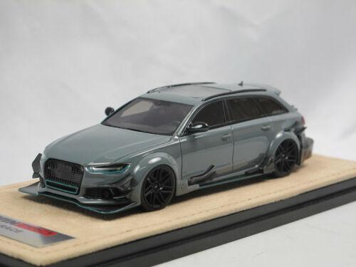 GLM 200102 Audi RS6 Avant DTM DarwinPro Replica 2017 grey 1:43 Limited Edition