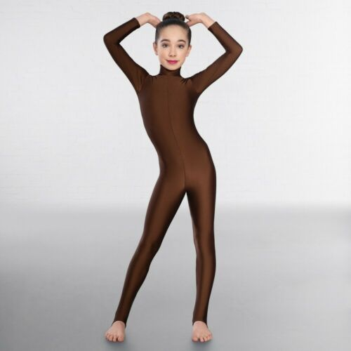 1st Position Long Sleeved Keyhole Back Dance Catsuit
