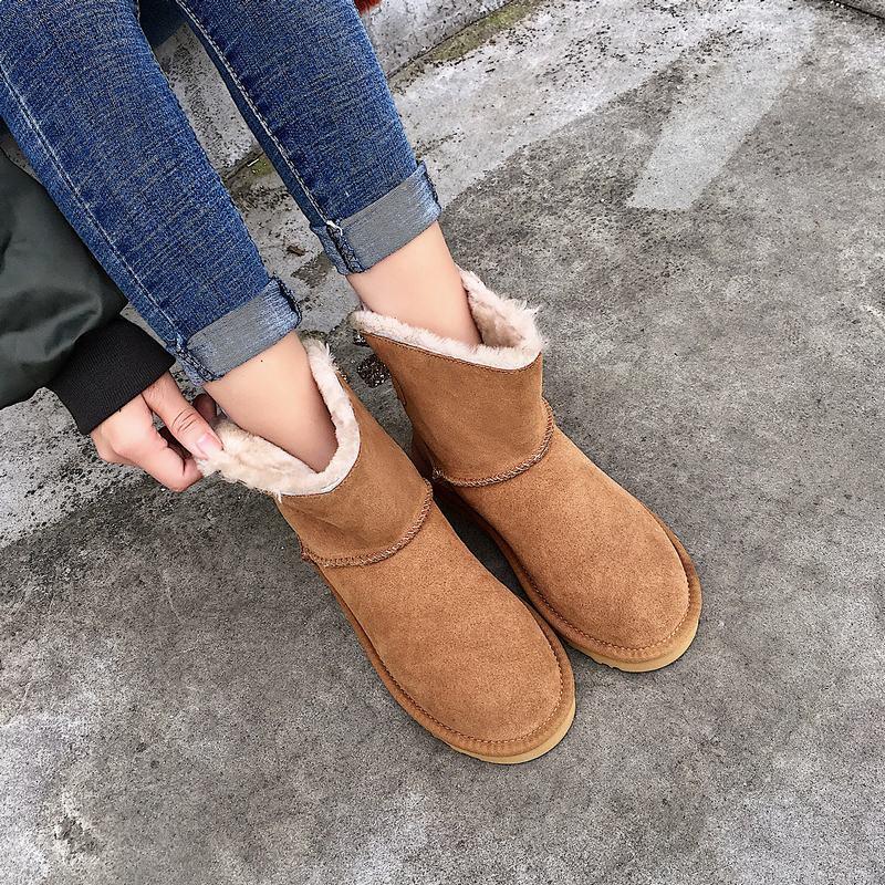 Invierno Mujer Mujer Mujer Estrás Con Moño Acolchado Cálido Blingbling Tirar botas al tobillo  Tienda 2018
