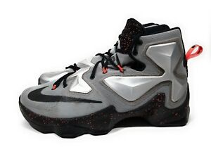 new product 8b790 8272c Image is loading Nike-Lebron-XIII-13-Rubber-City-Mens-Basketball-