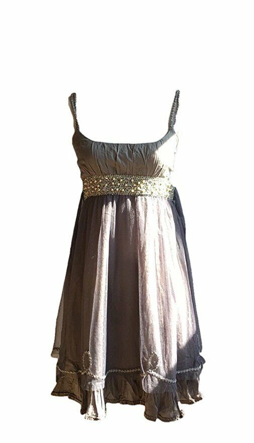 NEW Free People Beaded Dress Size 6