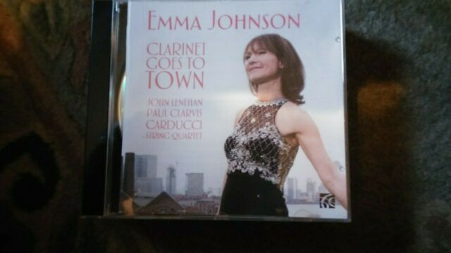 """Emma Johnson,""""Clarinet Goes To Town"""" CD"""