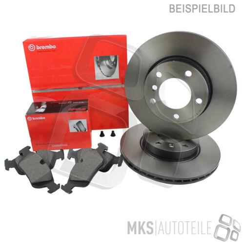 Brembo discos de freno pastillas de freno delantero ø257 opel corsa e corsa e van 3898830