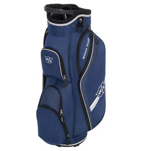 Wilson-Staff-Lite-II-Golfbag-Trolley-Cart-Bag-Golftasche-blau