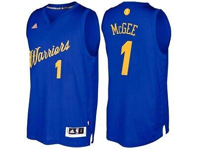 online store b7eea 80c6a JaVale McGee #1 Golden State Warriors Adidas Xmas Day NBA Swingman Jersey  2XL | eBay