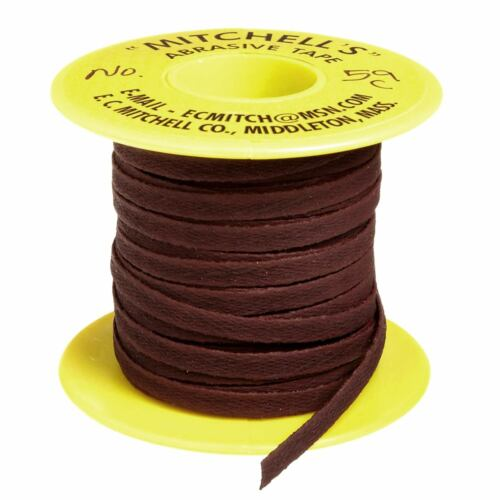 "Mitchell/'s Abrasive Flat Crocus Tape #59-C 1//4/"" Wide X 50 Ft."