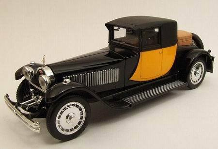 exclusivo Bugatti 41 Royale Napoleón negro amarillo 1929 1 43 Model Model Model rio4233 río  alta calidad