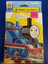 Thomas The Train Tank Engine Thank You Notes 8pcs Party Supplies Ebay