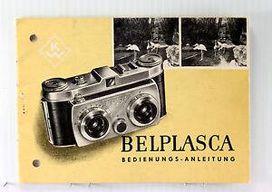 Original Belplasca Instruction Manual - in German,