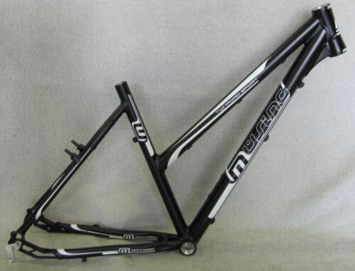 Müsing Twinroad Light Damen Crossrad Trekkingrad FahrradRahmen schwarzmatt  NEU