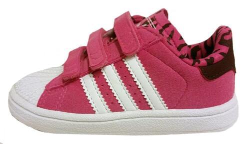 Adidas INFANT Superstar 2 Comfort Ortholite M25285 UK 2-9.5 PINK NEW