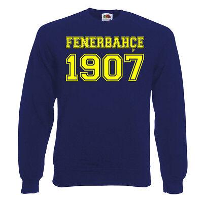 XXL süperlig Farben Gr S Herren Fenerbahce Istanbul Pullover Sweater versch