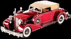 Fascinations 1934 Packard Twelve Convertible Metal Earth 3D Model New MM175