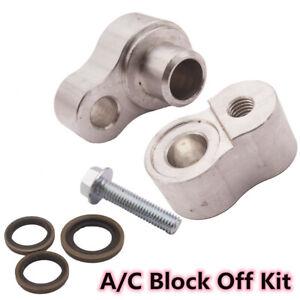 Aluminum Billet A//C Block Off Kit For Rear Air In For Chevrolet /& GMC Suburban