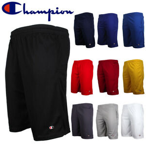 Champion-Men-039-s-Athletic-Mesh-Pocket-Gym-Basketball-Shorts-9-034-Inseam