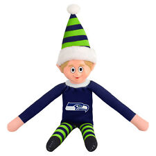 NFL Seattle Seahawks ELF ON A SHELF Style 14in Team Mascot Holiday Game Traditio