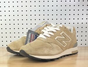 big sale 149eb 41c10 New Balance 1400 Mens Sz 11 Beige White Suede Running Shoes ...