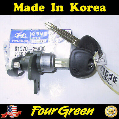 Genuine Hyundai 81970-25A00 Door Lock Assembly Left