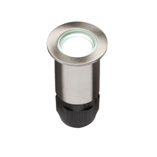 Knightsbridge IP67 LV 4 x 0.5W High Powered LED Stainless Steel Decking Light