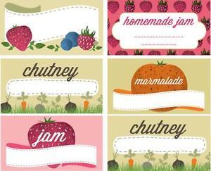 144 Nutley de preservar las Etiquetas Calcomanías Jam Chutney Marmalade Jam Tarros Hecha En Casa  </span>