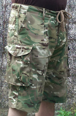 "New British Army Mtp Shorts Militaria Pants M 30""-32"" 27/80/96 Combat,walking Bnib Rapid Heat Dissipation"