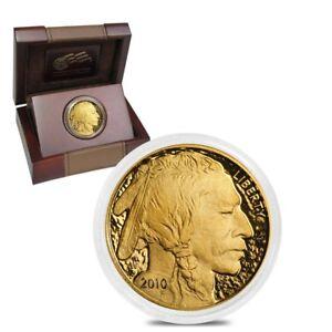 2010-W-1-oz-50-Gold-American-Buffalo-Proof-Coin-w-Box-amp-COA
