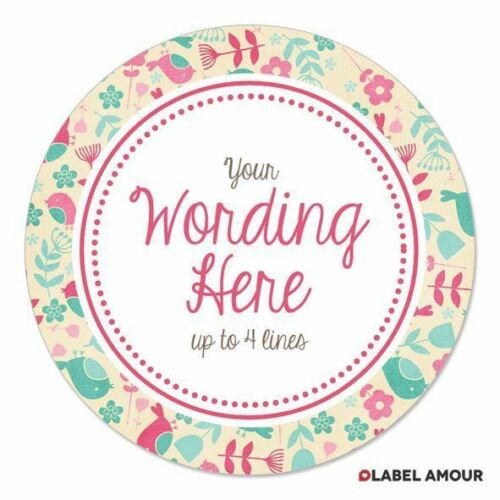 PERSONALISED Wedding Birthday Business Baby Party Favour Sticker LabelPrim