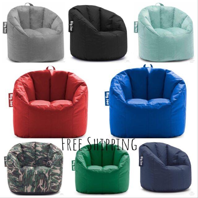 Big Joe Milano Bean Bag Chair for Gaming Movies Lounging Kids or Adults Comfort