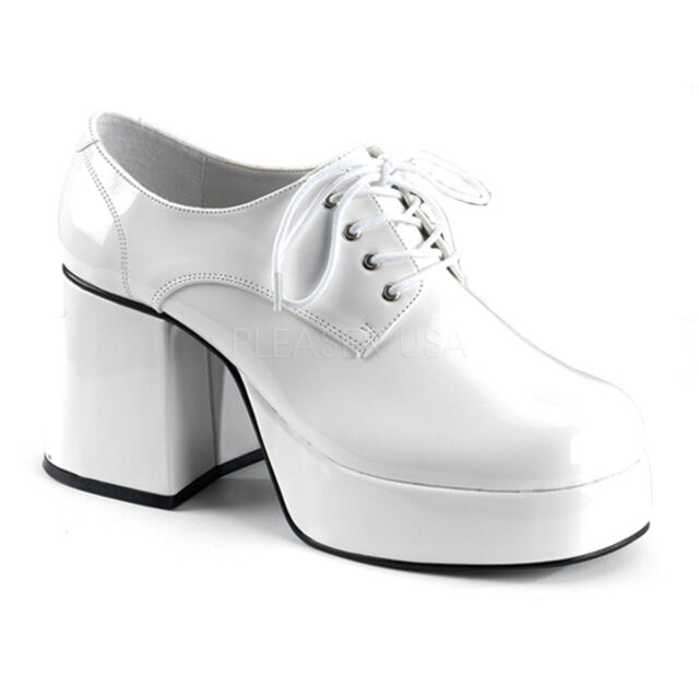 70s Platform Mens Shoes 60s Disco Pimp