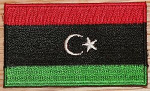 Libya 1951 1969 country flag embroidered patch badge ebay image is loading libya 1951 1969 country flag embroidered patch badge publicscrutiny Gallery