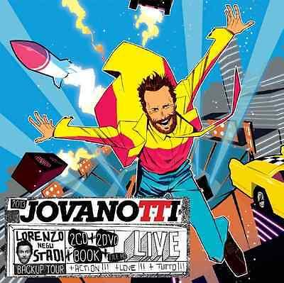 JOVANOTTI - Lorenzo negli stadi Backup Tour 2013 box 2 CD+2DVD NUOVO SIGILLATO