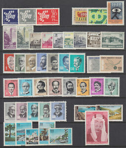 Turkey-Sc-1518-1710-MLH-1961-1966-issues-10-complete-sets-VF
