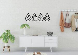 StarGate Earth Symbole Style Home Decor Wall Art Decal Vinyl Sticker