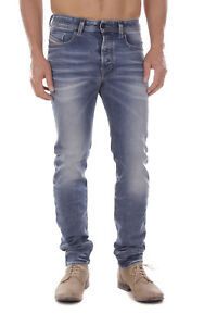 Diesel-Buster-0853I-Stretch-Herren-Jeans-Hose-Slim-Tapered