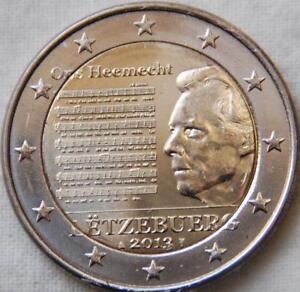 Pièce Commémorative Neuve De 2 Euro ( Luxembourg 2013 ) Riche Et Magnifique