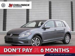 2019 Volkswagen Golf Comfortline   *NO ACCIDENTS*   APP CONNECT, HEATED SEATS!