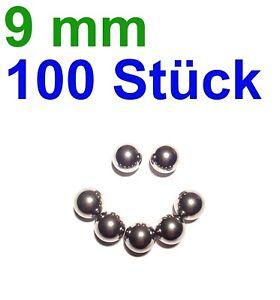 100-x-9mm-Stahlkugeln-Steinschleuder-Zwille-Slingshot-pocketshot-Munition