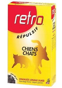 1 Kg Repulsif Chien Chat Granules Action Longue Duree Retro Ideal Proteger Zone