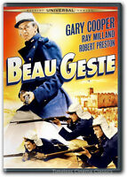 Beau Geste Dvd Gary Cooper, Ray Milland, Robert Preston, Brian Donlevy