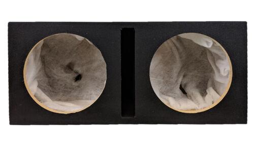 """Doble Dual 12/"""" Custom ranura portado caja MDF gabinete para Subwoofers de 2 X 12/"""" Sub"""