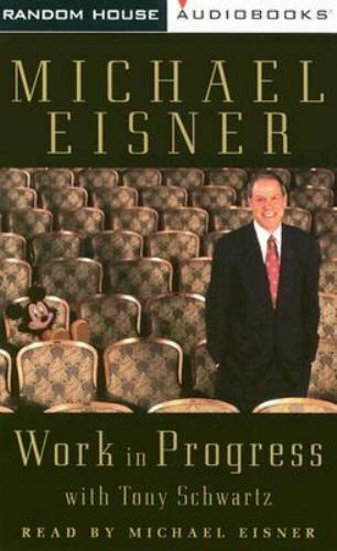 Work in Progress by Michael D Eisner: New Audiobook CASSETTES