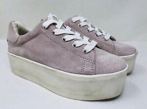 ae43d9cd938 Steve Madden Women s Palmer Suede Platform Sneaker Size 6.5M Pink
