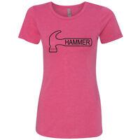 Hammer Classic Womens Tee Pink