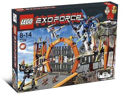 nouveau Lego Exo-Force 7709  Sentai Fortress nouveau SEALED  haute qualité et expédition rapide