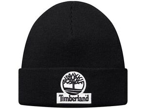 Image is loading SUPREME-x-Timberland-Beanie-Black-Red-box-logo- 8c90d4f28405
