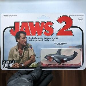 Jaws-2-Orca-Killer-Whale-Great-White-Shark-Readful-Things-Action-Figure